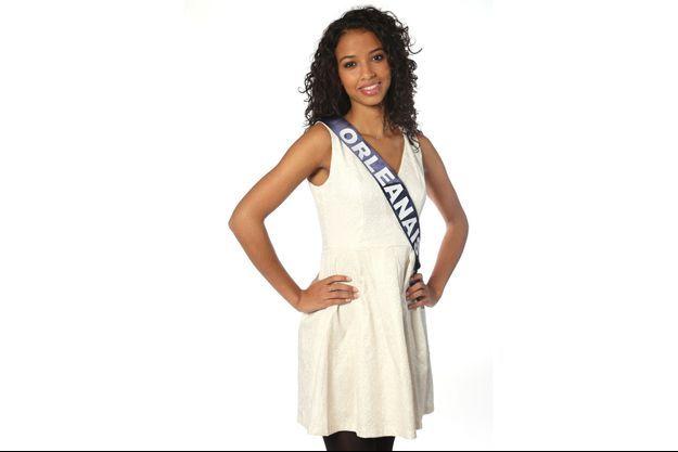 Flora Coquerel, 19 ans, Miss Orléanais, est Miss France 2014