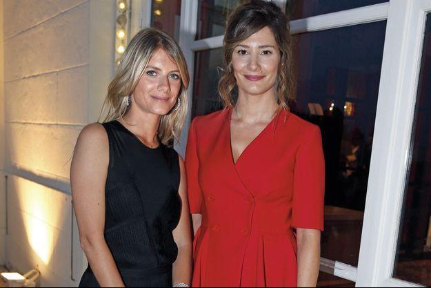 Mélanie Laurent et Alice Pol.