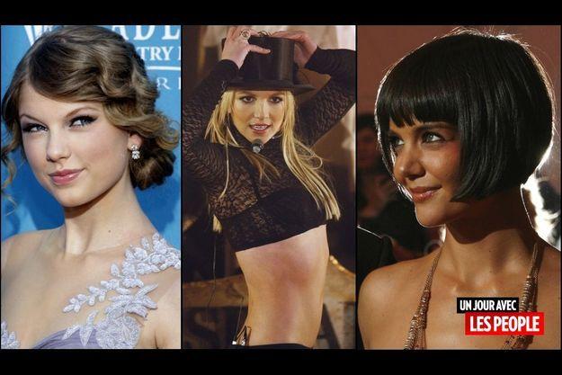 Taylor Swift, Britney Spears, Katie Holmes