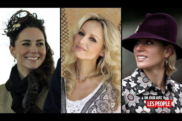 Kate Middleton, Adriana Karembeu et Zara Phillips
