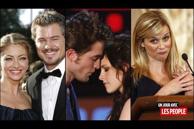 Rebecca Gayheart et Eric Dane, Robert Pattinson et Kristen Stewart, Reese Witherspoon
