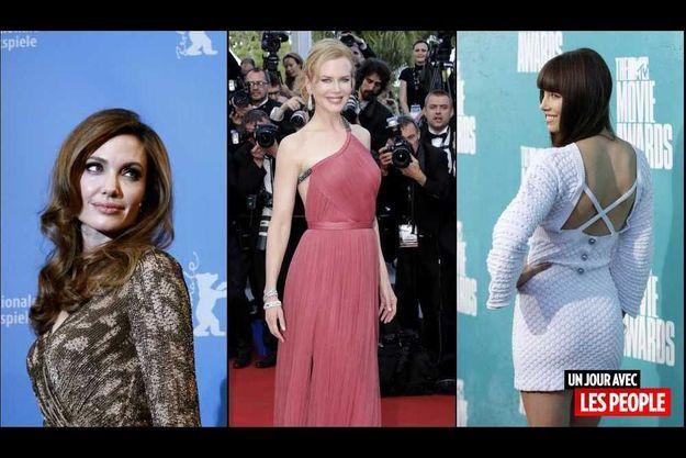 Angelina Jolie, Nicole Kidman et Jessica Biel.