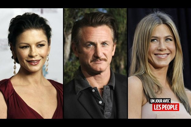 Catherine Zeta-Jones, Sean Penn et Jennifer Aniston