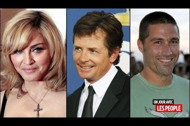 Madonna, Michael J.Fox, Matthew Fox