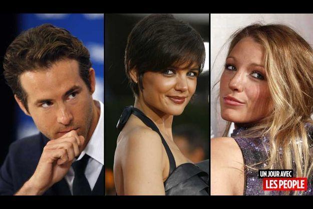Ryan Reynolds, Katie Holmes et Blake Lively.
