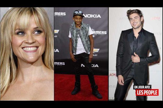 Reese Witherspoon, Jaden Smith et Zac Efron.