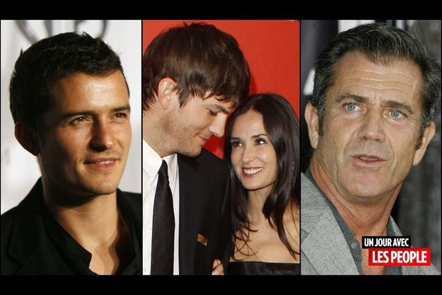 Orlando Bloom, Ashton Kutcher et Demi Moore, Mel Gibson