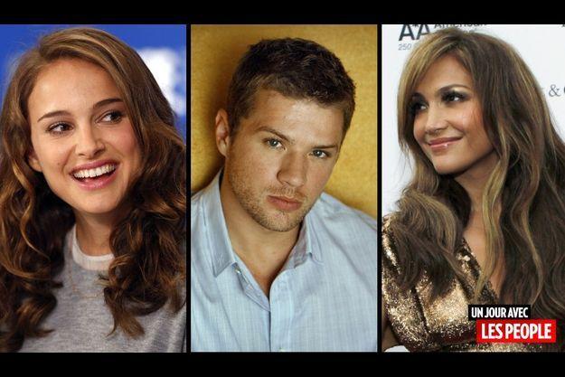 Natalie Portman, Ryan Philippe et Jennifer Lopez.