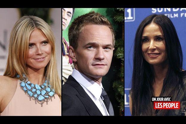 Heidi Klum, Neil Patrick Harris et Demi Moore