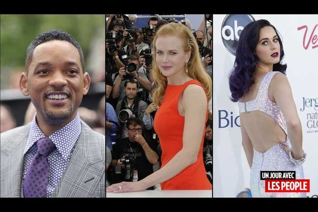 Will Smith, Nicole Kidman et Katy Perry.