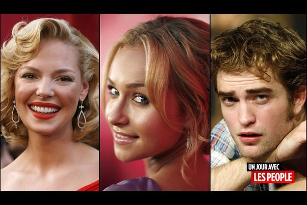 Katherine Heigl, Hayden Panettiere et Robert Pattinson