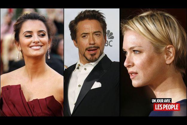 Penélope Cruz, Robert Downey Jr. et Renée Zellweger