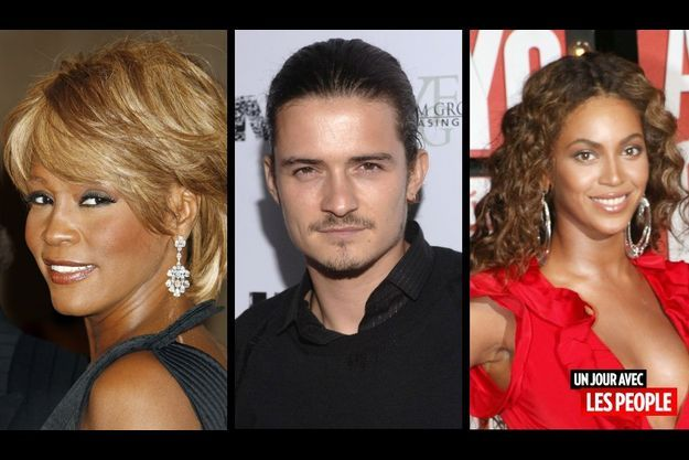 Whitney Houston, Orlando Bloom et Beyoncé.