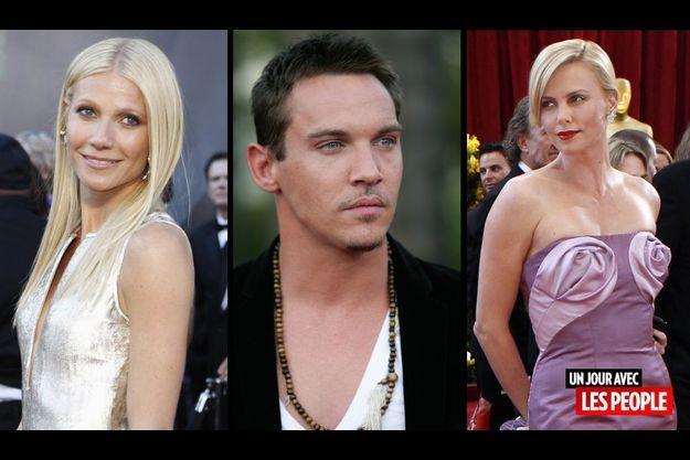 Gwyneth Paltrow, Jonathan Rhys Meyers et Charlize Theron.