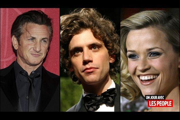 Sean Penn, Mika, Reese Witherspoon