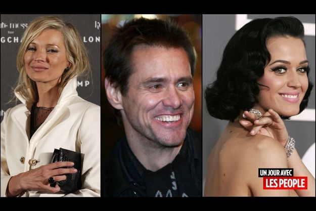 Kate Moss, Jim Carrey, Katy Perry