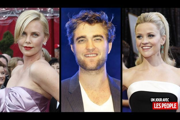 Charlize Theron, Robert Pattinson et Reese Witherspoon.