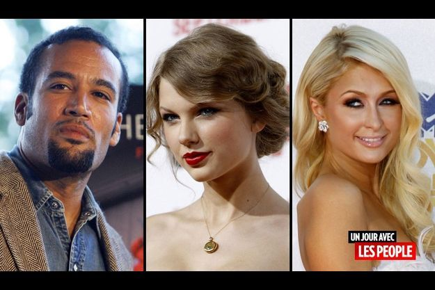 Ben Harper, Taylor Swift et Paris Hilton