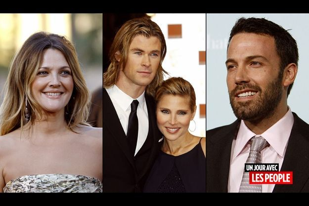 Drew Barrymore, Ben Affleck, Elsa Pataky et Chris Hemsworth