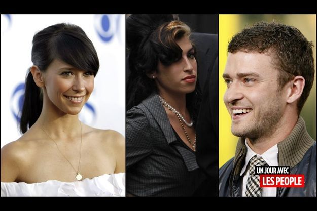 Jennifer Love Hewitt, Amy Winehouse et Justin Timberlake