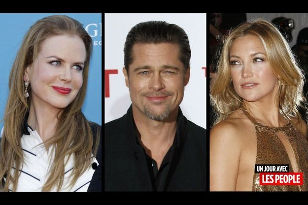 Nicole Kidman, Brad Pitt et Kate Hudson.