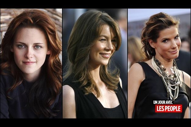 Ellen Pompeo, Kristen Stewart, Sandra Bullock