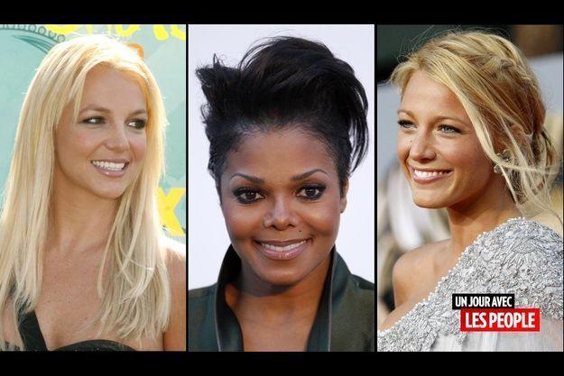 Britney Spears, Janet Jackson et Blake Lively