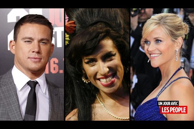 Channing Tatum, Amy Winehouse et Reese Witherspoon