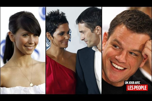 Jennifer Love Hewitt, Halle Berry et Olivier Martinez, Matt Damon