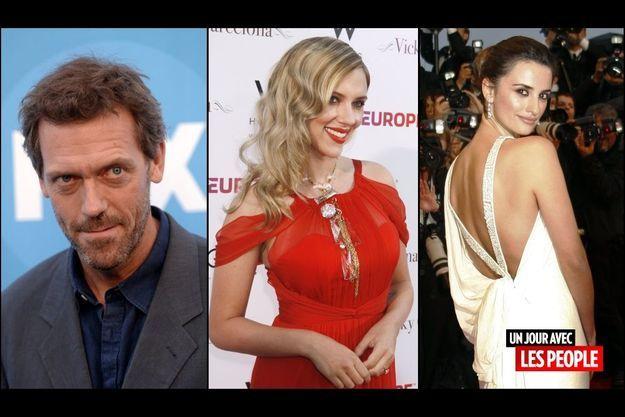 Hugh Laurie, Scarlett Johansson, Penélope Cruz