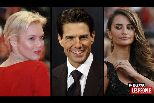 Renée Zellweger, Tom Cruise et Penelope Cruz.