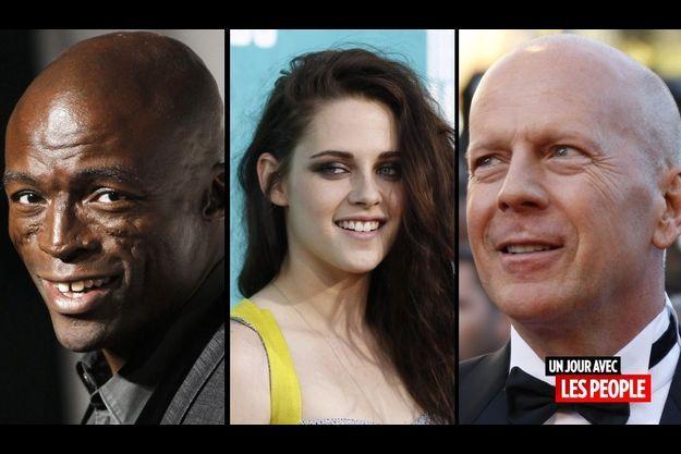 Seal, Kristen Stewart et Bruce Willis