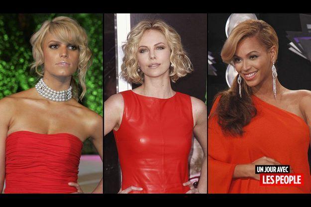 Jessica Simpson, Charlize Theron et Beyonce