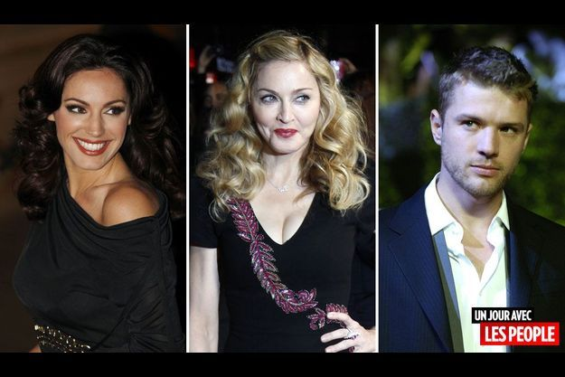 Kelly Brook, Madonna et Ryan Philippe.