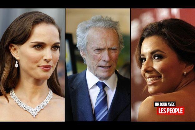 Natalie Portman, Clint Eastwood et Eva Longoria
