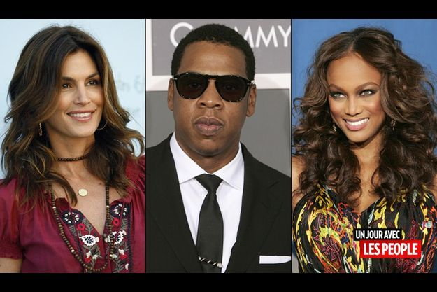 Cindy Crawford, Jay Z, Tyra Banks