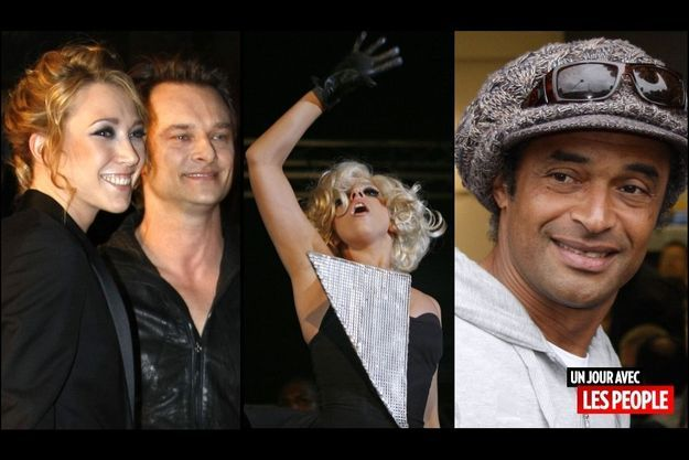 Laura Smet et David Hallyday, Lady GaGa, Yannick Noah