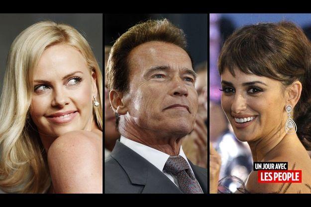 Charlize Theron, Arnold Schwarzenegger et Penelope Cruz