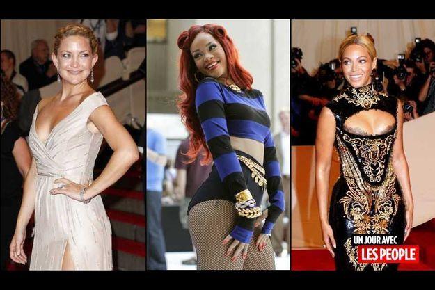 Kate Hudson, Rihanna, Beyoncé