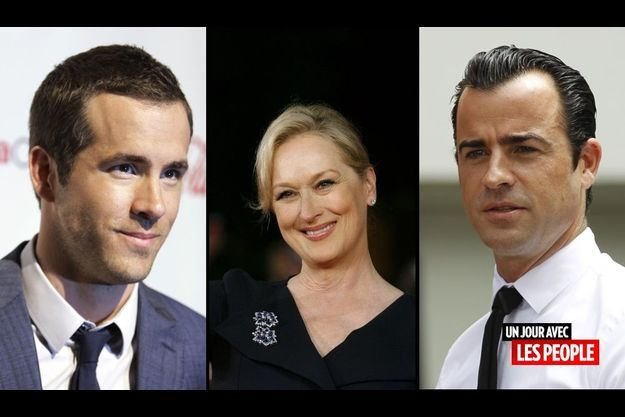 Ryan Reynolds, Meryl Streep et Justin Theroux