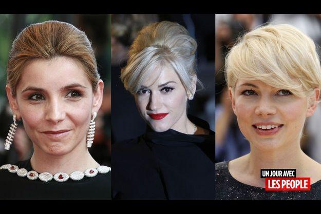 Clotilde Courau, Gwen Stefani et Michelle Williams.