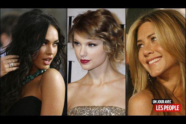 Megan Fox, Taylor Swift, Jennifer Aniston