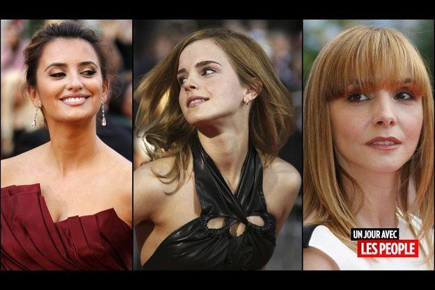 Penelope Cruz, Emma Watson et Clotilde Courau