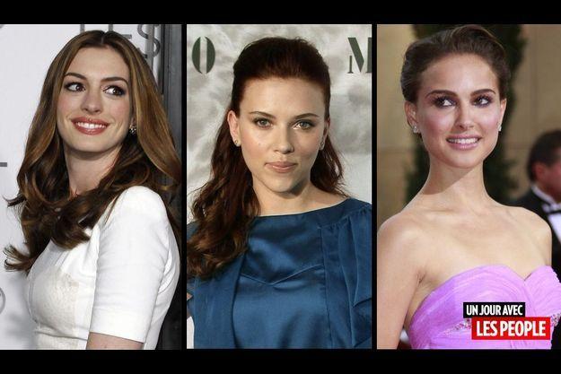 Anne Hathaway, Scarlett Johansson et Natalie Portman