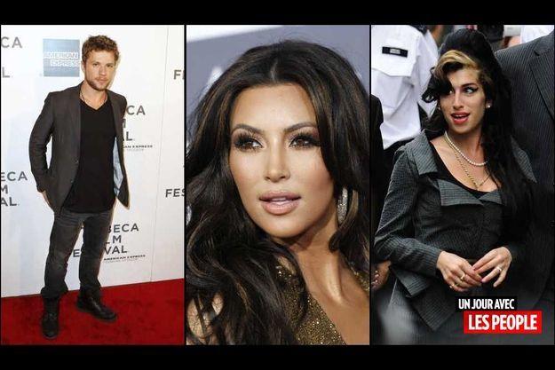 Ryan Phillippe, Kim Kardashian et Amy Winehouse.