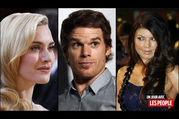 Kate Winslet, Michael C. Hall, Fergie