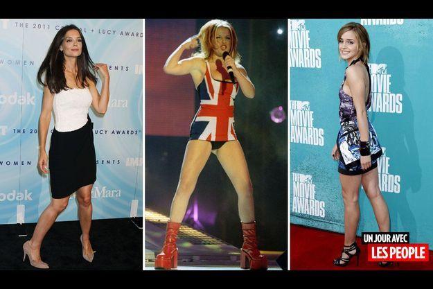 Katie Holmes, Geri Halliwell et Emma Watson.