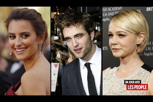 Penelope Cruz, Robert Pattinson et Carey Mulligan
