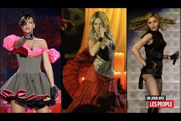 Rihanna, Shakira et Madonna