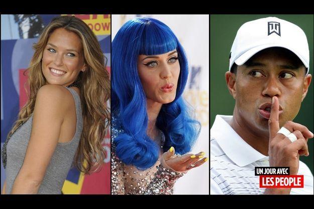 Katy Perry, Tiger Woods et Bar Refaeli
